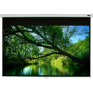 ELUNEVISION 84X84IN MANUAL PROJECTION SCREEN