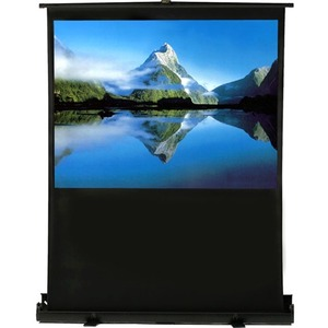 ELUNEVISION AIR LIFT 80IN PORTABLE AIR LIFT PROJECTION SCREEN