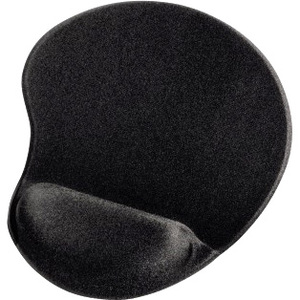 Hama Mouse Pad - 21 mm x 215 mm x 255 mm Dimension - Black