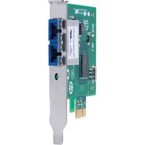 Allied Telesis AT-2911SX Gigabit Ethernet Card - PCI Express x1 - 1 Port(s) - 1 x SC Port(