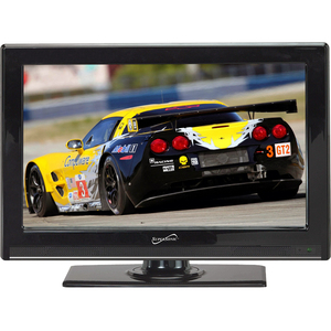 24IN LED HD TV BUILT-IN DUAL TUNERS HDMI INPUT COMPATIBLE HDTV 1080P/1080I/720P/