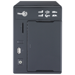 Thecus N2800 2 Bay SATA NAS Server RAID 0/1/JBOD Intel Atom D2700 CPU DDR3 HDMI USB3.0