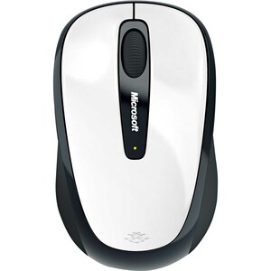 WIRELESS MOB MOUSE3500 MAC/WIN EF ENFR WHITE GLO