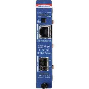 IMCV T1/E1/J1 LINE TERM TP/FIBER-SM1310/PLUS-SC MODULE WORKS IN IMEDIACHASSIS OR