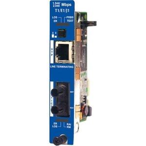 IE IMCV T1/E1/J1 LINETERM TP/SSFIBER SM1310-SC (1310XMT/1550RCV) 20KM MODULE
