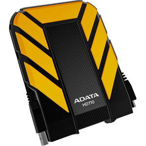 ADATA DashDrive Durable Series 500GB 2.5IN USB3.0 External Hard Drive Shock and Waterproof - Yellow