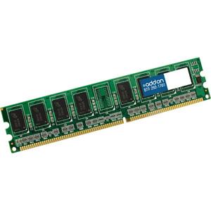 AddOn JEDEC Standard Factory Original 4GB DDR3-1333MHz Registered ECC Single Rank 1.35V 240-pin CL9 RDIMM