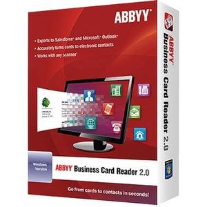 Frlbcrdfw2xe abbyy business card reader v20 license 1 user frlbcrdfw2xe image reheart Images