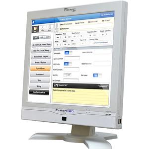 Cybernet CyberMed N19 All-in-One Computer - Intel Atom D2500 1.86 GHz - Desktop