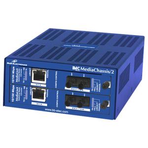 IE-MEDIACHASSIS/2-AC (2-SLOT INTERNAL AC POWER)