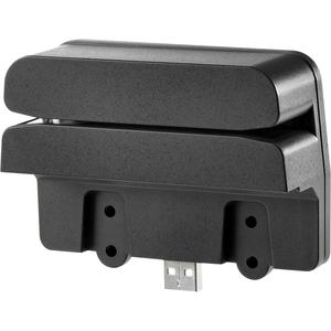 HP Retail Integrated Dual-Head Magnetic Stripe Reader - USB - Black