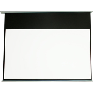 ELUNEVISION 100IN INCEILING MOTORIZED 4:3 PROJECTOR SCREEN