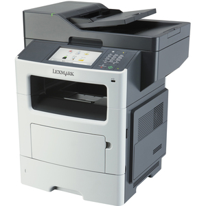 Lexmark MX610DE Laser Multifunction Printer | Monochrome | Plain Paper Print | Desktop