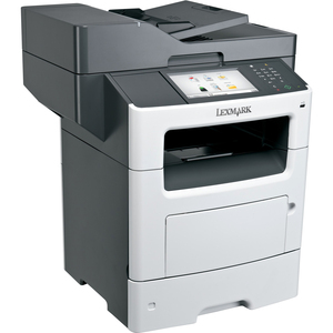 Lexmark MX611DHE Laser Multifunction Printer | Monochrome | Plain Paper Print | Desktop