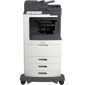 MX810dtfe - Multifunction - Monochrome - Laser - Color Scanning;Copying;Faxing;N
