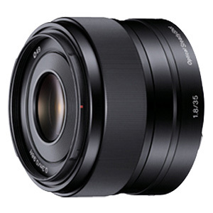 Sony SEL-35F18 - 35 mm - f/1.8 - Fixed Focal Length Lens for E-mount - 49 mm Attachment -