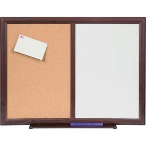 Lorell Dry-Erase/Bulletin Combo Board - 36