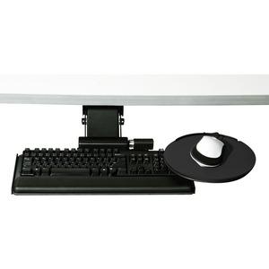 Humanscale 6G Black Mechanism STD Black Big Board No Mouse Platform 20 & 7 Gel W/SYN Cvr