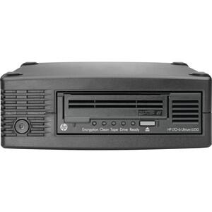 HPE StoreEver LTO-6 Ultrium 6250 SAS External Tape Drive - LTO-6 - 2.50 TB (Native)/6.25 T