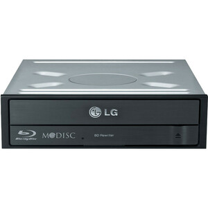 LG BH16NS40 Blu-ray Writer - BD-R/RE Support - 16x CD Read/48x CD Write/24x CD Rewrite - 1