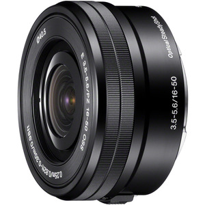 Sony - 16 mm to 50 mm - f/5.6 - Zoom Lens for Sony E - 40.5 mm Attachment - 0.22x Magnific
