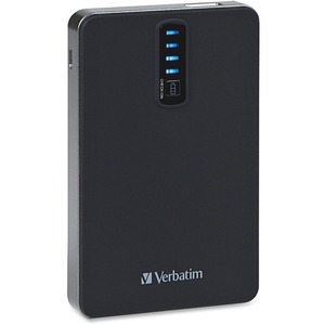 VERBATIM DUAL USB POWER PACK 5200MAH