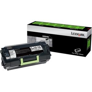 Lexmark 520HN Toner Cartridge   Black