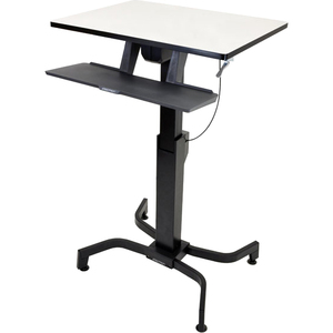WORKFIT-PD SIT-STND DESK LT. GREY