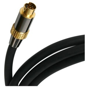 StarTech 50 ft Premium S-Video Cable - DIN Male - DIN Male - Black