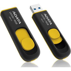 Adata 16GB DashDrive UV128 USB 3.0 Flash Drive - 16 GB - USB 3.0 - 90 MB/s Read Speed - 40
