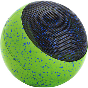 GOgroove BlueSYNC GG-BLUESYNC-OR3 Portable Bluetooth Speaker System - Black, Blue