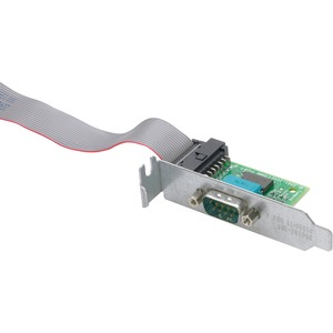 HP 2nd Serial Port Adapter with Bracket - DB-9 Male Serial