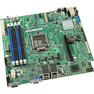 INTEL S1200V3RPL LGA1150 UATX SERVER MOTHERBOARD