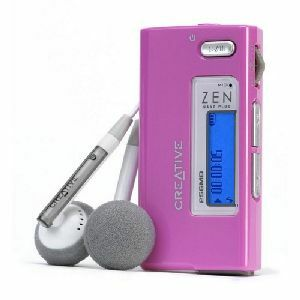 Creative Zen Nano Plus 1GB MP3 Player | Product overview