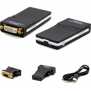 ADD-ON COMP PERIPHERALS DT USB 2.0 TO DVI 1080P WINDOWS COMPARE TO LENOVO 45K5296