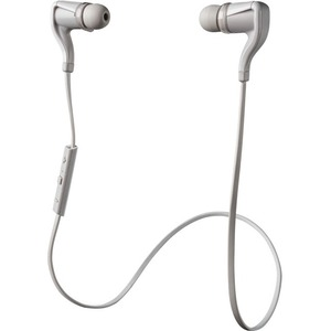 Plantronics Backbeat Go 2 Wireless Bluetooth Stereo Earbuds - White