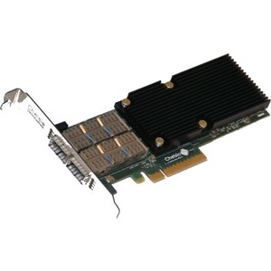 2-PORT 10/40GBE LOW PROFILE OFFLOAD ADAPTER WITH PCI-E X8 GEN 3 SERVER OFFLOAD.