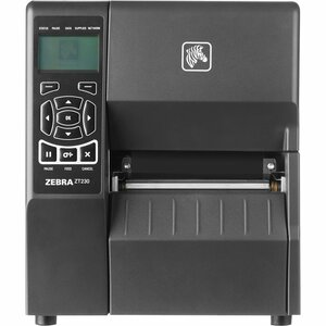 ZEBRA, ZT230, 4IN, 203DPI, DIRECT THERMAL, PEEL WITH LINER TAKE-UP, POWER CORD BARCODE PRINTER