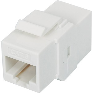 Intellinet Cat6 UTP Inline Coupler, Keystone Type, White 505147