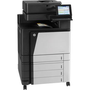 HP LaserJet M880Z Laser Multifunction Printer - Color - Plain Paper Print - Floor Standing