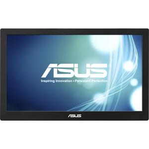 Asus MB168B 15.6inHD LED LCD Monitor - 16:9 - Black-Silver - Twisted Nematic Film (TN Fil