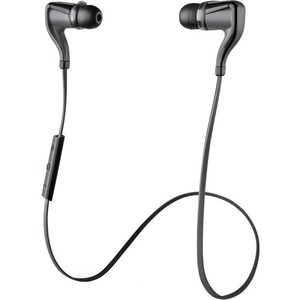 Plantronics Backbeat Go 2 Wireless Bluetooth Stereo Earbuds - Black + Charging Case