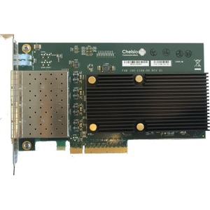 4-PORT 1/10GBE HALF SIZE UWIRE ADAPTER WITH PCI-E X8 GEN 3 32K CONN. SFP CONNE