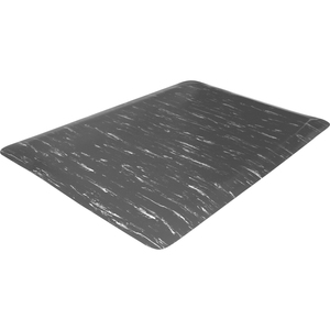 Genuine Joe Marble Top Anti-fatigue Mats - Office, Industry, Airport, Bank, Copier, Teller Station, Service Counter, Assembly Line - 24