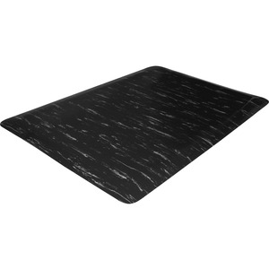 Genuine Joe Marble Top Anti-fatigue Mats - Office, Airport, Bank, Copier, Teller Station, Service Counter, Assembly Line, Industry - 24