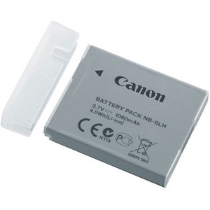 Canon Rechargeable Li-ion Battery NB-6LH - Battery Rechargeable - 3.7 V DC - 1060 mAh - Li