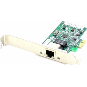 ADD-ON NETWORKING DT HP FH969AA COMP 1GBS 1XRJ-45 PCIEX4 1XRJ-45 NETWORK ADAPTER