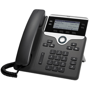 CISCO 7841 IP Phone - Cable - Wall Mountable - 4 x Total Line - VoIP - Caller ID