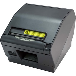 STAR MICRONICS TSP847IIU-24GRY THERMAL RECEIPT PRINTER CUTTER TEAR BAR USB GRAY REQUIRES POWER SUPPL