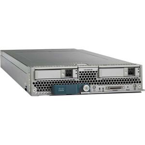 Cisco B200 M3 Blade Server - 2 x Intel Xeon E5-2640B - 128 GB Installed DDR3 SDRAM - Serial Attached SCSI (SAS) Controller - 0, 1 RAID Levels UCS-SP7-SR-B200-V